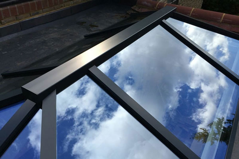 Vertex Contemporary Lantern Rooflight